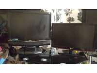 2 x freeview TVs