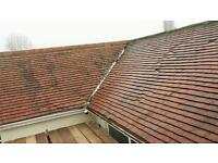 Clay plain roof tiles (red)