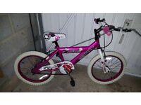 Girls Bike Apx Age 4-7