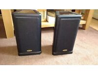 Tannoy 631 hifi speakers excellent condition with free metal stands