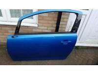 Vauxhall Corsa Vxr Passenger Side Door