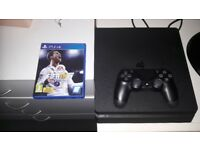 Playstation 4 slim 500gb with Fifa 18 & COD WW2