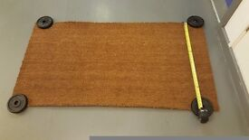 **COCONUT COIR RUG/MAT FOR DOORWAY INC UNDERLAY**