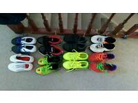 Boy's trainers, shoes and football boots