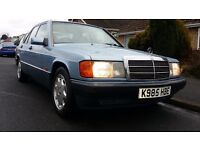 Mercedes 190e 2.0 rare manual retro