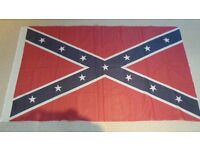 Original Confederate Flag 59 x 34 Inch American Civil War - History