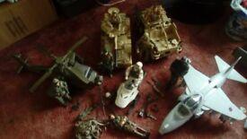 Hm armed forces toy bundle
