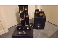 LG BH7440P 5.1 CH 1200W SURROUND SOUND SYSTEM - COLLECTION ONLY.