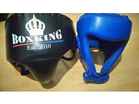 Wesing AIBA approved professional head guard and groin/ hip guard.(can deliver locally)