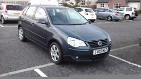 2009 - Volkswagen Polo 1.4 - excellent condition, Low mileage 34388 - MOT 16/03/2017 , Graphite grey