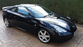 2001 TOYOTA CELICA 1.8 VVTI 140 BHP 1ZZ-FE IN BLACK BREAKING VEHICLE FOR PARTS AND SPARES