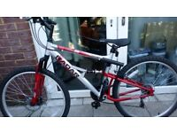 """Appollo Radar 17 """"frame new with tags comes with D lock"""