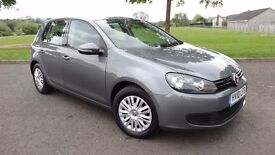 2010 Volkswagen Golf 1.6TDI S - F.S.H - One Owner - MOT Till March 2018 - Not leon civic polo focus