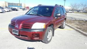 2004 Mitsubishi Endeavor LS |Low Kms|AWD|