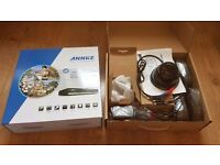 Annke 8 Channel - 4 camera Hybrid HD CCTV System with Remote Viewing via free APP