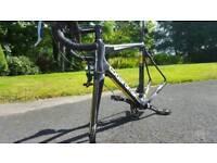Full carbon fibre, Boardman bike frame.