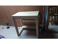 Small desk from ikea