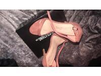 PrettyLittleThing pink heels