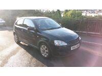Vauxhall Corsa 1.2 sxi 2003; 5 month MOT