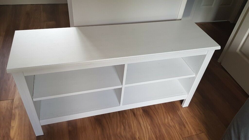 Superb Ikea Brusali Tv Bench White 120Cm In Tower Bridge London Gumtree Gmtry Best Dining Table And Chair Ideas Images Gmtryco