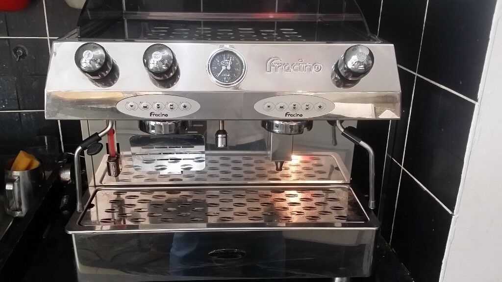 fracino 2 group coffee machine spare or repair electric fault