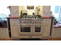 Baumatic Royal Chiantishire 90cm Range Cooker Ivory/Cream. Gas hob electric oven.