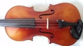 """Adult 15.5"""" Viola, with accessories."""