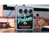 Electro Harmonix Stereo Pulsar EHX / Tremolo pedal / great sound / great state