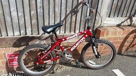 boys bmx bike aged 4-8 years old