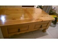 Beautiful real wood coffee table