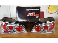 Lexus style tail lights pugeot 106