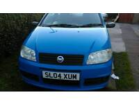 Fiat punto active sport 1.2 04 plate £650 ono