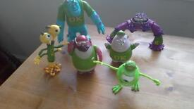 monsters inc character's