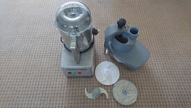 Robot Coupe R401 food processor and veg attachment