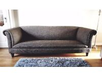 4 seater chesterfield style sofa