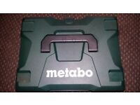 Metabo combi drill brushless technology and m technolegy future proof battertys