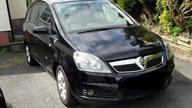 Vauxhall Zafira 1.9 Design. 7 Seats . 1/2 leather . 1 previous owner