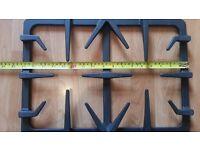 Brand New Cast Iron Pan Support Wok Holder BURNER For Gas Range Cooker & Gas Hob