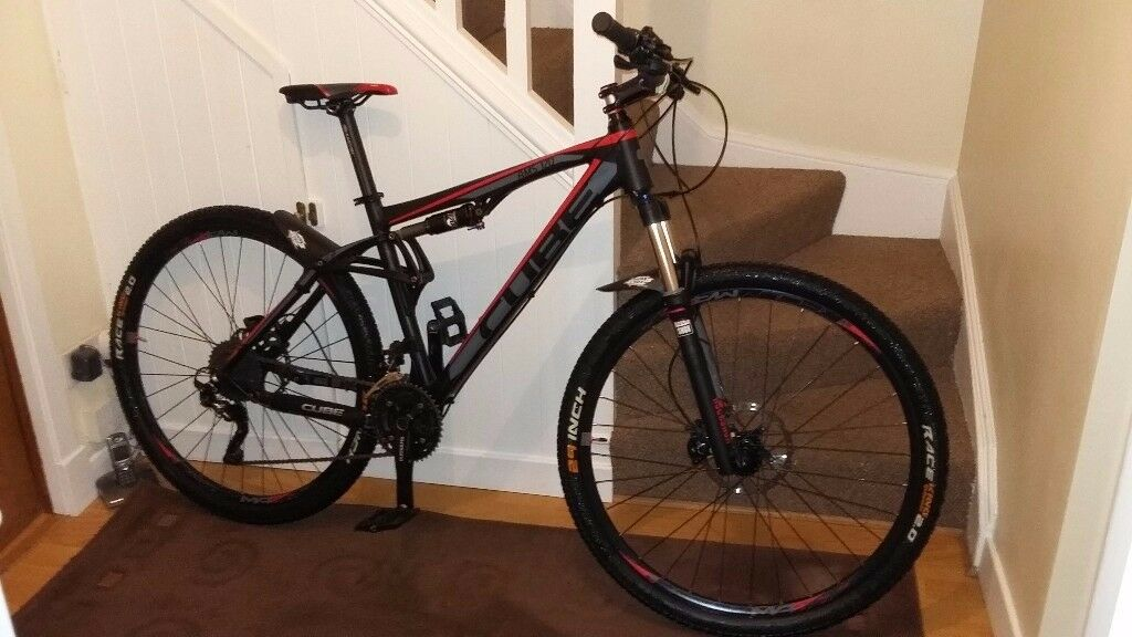 cube ams 120 full sus with upgrades