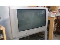 "32"" Phillips T.V. & Stand, Good Condition"