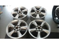 Bmw 1 series alloy wheels 5 x 120 x 17