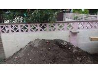 Garden soil - 2 tons approx
