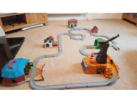 A selection of Thomas The Tank engine buildings/track/trains.
