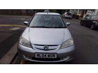honda civic ima 1.4 manual petrol with tax and mot