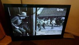 LG 50 inch HD TV and new wall bracket