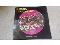 """Nirvana Lithium 12"""" Picturedisc vinyl Grunge"""
