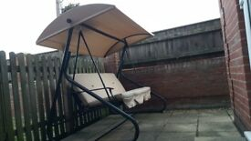 Garden swing chair for sale.