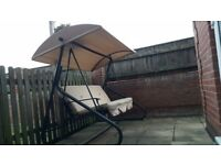 Garden swing chair for sale.