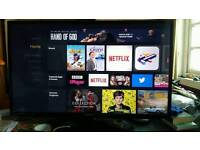 Samsung 40 inch full hd LED Tv+ amazon fire stick