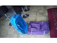 2 Light Luggage Suitcases cheap travel suitcases used only once
